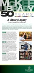 A Library Legacy: From Student to Librarian by Southern Adventist University and McKee Library