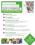 Steps for Finding Your Passion and God's Purpose at Southern