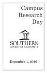 Campus Research Day Program: December 1, 2016