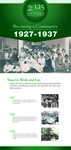 Becoming a Community Banner: 1927-1937 by Southern Adventist University
