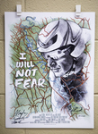 Signed I Will Not Fear Movie Poster by Southern Adventist University, Nick Lindsay, Mark Comberiate, and Dillan Forsey