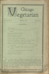 Chicago Vegetarian April 1898