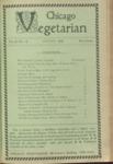 Chicago Vegetarian August 1898