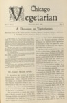 Chicago Vegetarian May 1899