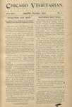 Chicago Vegetarian November 1896