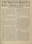 The Vegetarian Magazine August 1904 by The Vegetarian Magazine