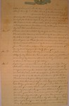 Last Will and Testament of John Shank, July 1852 by John Shank