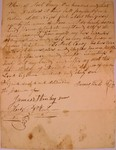 Bill of Sale from James Lock to Joel Coney, December 1831
