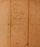 Deed from A. E. Early to John Shank, February 1856 by Almira E. Early