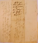 Bill of Sale to Joel Cony, May 1835 by John H. H