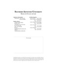 Southern Adventist University Graduate Catalog 2007-2008