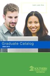 Southern Adventist University Graduate Catalog 2009-2010 by Southern Adventist University