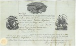 State of Rhode-Island and Providence Plantations Proof of Citizenship by Joshua Hopkins