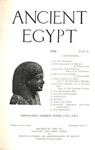 Ancient Egypt 1914 Part 1 by Flinders Petrie, R. Engelbach, P. E. Newberry, L. Eckenstein, F.W. Freiherr v. Bissing, and Flinders Petrie