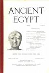 Ancient Egypt 1915 Part 1 by Flinders Petrie, Charles Whymper, J. E. Quibell, Herbert Thompson, and W. M. Flinders Petrie