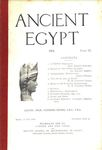 Ancient Egypt 1915 Part 2 by Flinders Petrie, Ernest Gardner, Walter Amsden, Joseph Offord, and W. M. Flinders Petrie