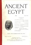 Ancient Egypt 1915 Part 3 by Flinders Petrie, Newberry, Seligman, J. G. Milne, and W.M. Flinders Petrie