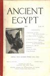 Ancient Egypt 1915 Part 4 by Flinders Petrie, Albert Lythgoe, Cyril Bunt, Oric Bates, and W. M. Flinders Petrie
