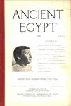 Ancient Egypt 1916 Part 1 by Flinders Petrie, M. A. Murray, Joseph Offord, Alice Grenfell, and W. M. Flinders Petrie