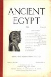 Ancient Egypt 1916 Part 2 by Flinders Petrie, S. A. B. Mercer, Seligman, M. A. Murray, and W. M. F. Petrie