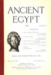 Ancient Egypt 1916 Part 3 by Flinders Petrie, E. L. Butcher, W. M. F. Petrie, Somers Clarke, Bertha Broadwood, M. A. Murray, J. Offord, and H. H. Johnston