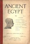Ancient Egypt 1920 Part 1 by Flinders Petrie, Somers Clarke, W. M. Flinders Petrie, and M.A. Murray