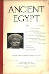 Ancient Egypt 1920 Part 2 by Flinders Petrie, W. M. Flinders Petrie, E. Mackay, Reisner, and Somers Clarke