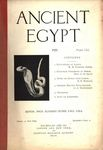 Ancient Egypt 1920 Part 3 by Flinders Petrie, W. M. Flinders Petrie, A. H. Sayce, H.E. Winlock, and G. A. Wainwright