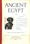 Ancient Egypt 1921 Part 1 by Flinders Petrie, W. M. Flinders Petrie, A. C. Mace, N. W. Thomas, and H. E. Winlock