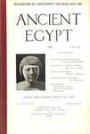 Ancient Egypt 1921 Part 3 by Flinders Petrie, W. M. Flinders Petrie, G. P. G. Subhy, Ernest S. Thomas, and M. A. Murray