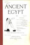 Ancient Egypt 1921 Part 4 by Flinders Petrie, H. Ling Roth, G. M. Crowfoot, A. H. Sayce, F. F. Bruijning, and M. A. Murray