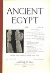 Ancient Egypt 1922 Part 2 by Flinders Petrie, W. M. Flinders Petrie, Percy E. Newberry, and G. P. G. Subhy