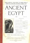 Ancient Egypt 1922 Part 4 by Flinders Petrie, W. M. F. Petrie, R. Engelbach, N. W. Thomas, and R. W. Sloley