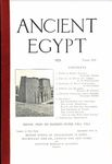Ancient Egypt 1923 Part 3 by Flinders Petrie, G. D. Hornblower, R. Engelbach, and Harold M. Wiener