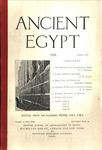 Ancient Egypt 1923 Part 4 by Flinders Petrie, E. S. Thomas, A. H. Sayce, and F. W. Read
