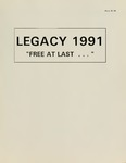 Legacy 1991 by Southern College of Seventh-day Adventists