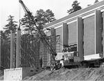 Construction of McKee Library by Southern Adventist University and McKee Library