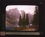 Jasper National Park - Maligne Lake and Mt. Unwin