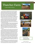 Thatcher Farm Newsletter Oct/Nov 2017 by Southern Adventist University