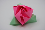 Rose Origami by Robert Ordóñez