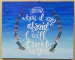 Psalms 56:3 Painting