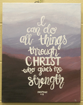 Philippians 4:13 Painting