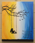 Psalms 55:6 Painting