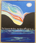 Psalm 19:1 Painting