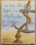 Hebrews 6:19 Painting by Southern Adventist University