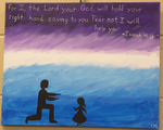 Isaiah 41:13 Painting by Southern Adventist University