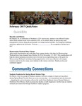February 2017 QuickNotes