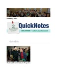 February 2015 QuickNotes