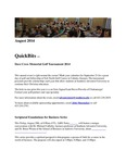 August 2014 QuickNotes