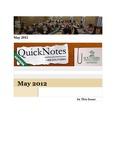 May 2012 QuickNotes